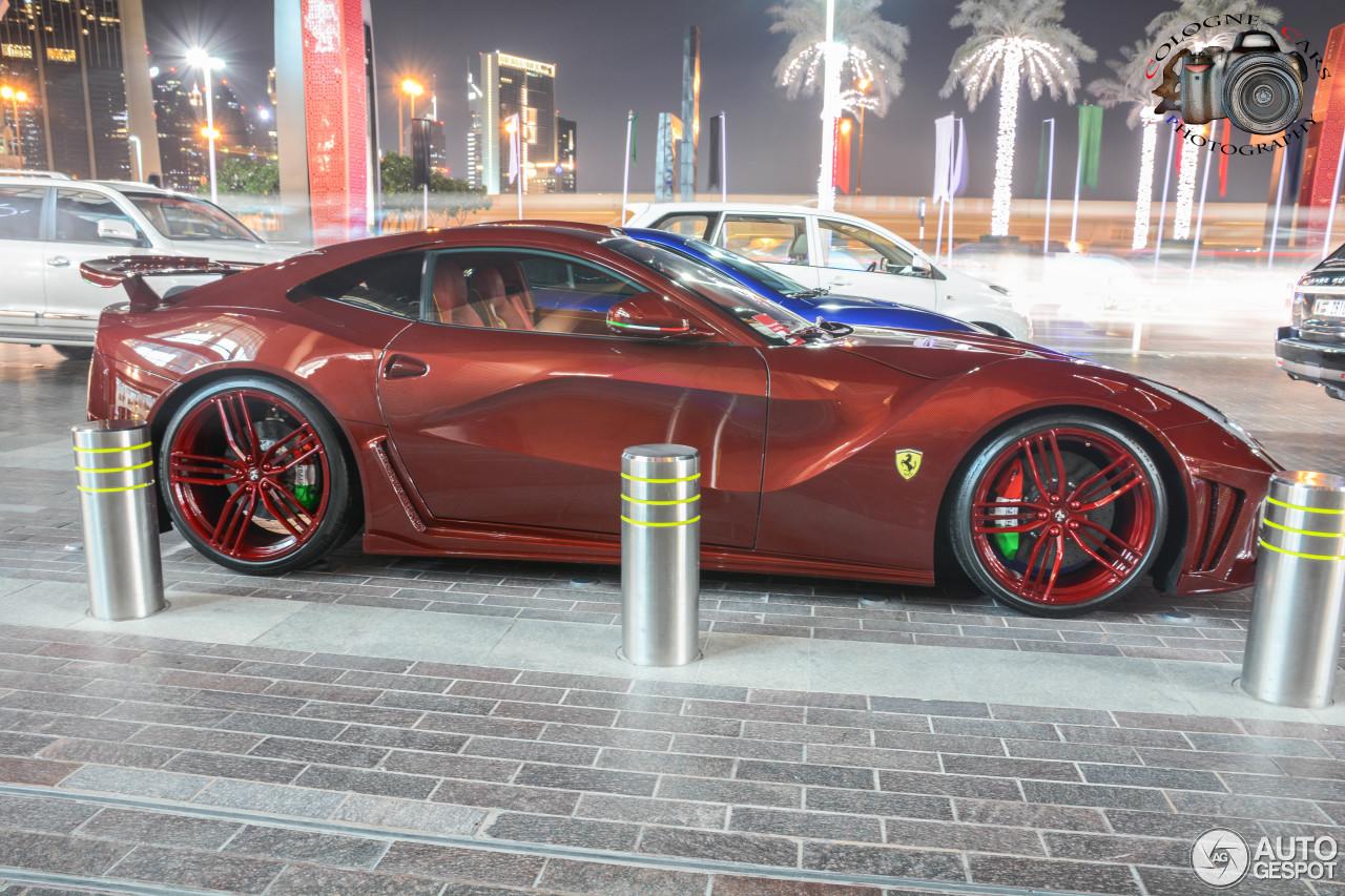 Elegant Ferrari Mansory La Revoluzione Limited Edition