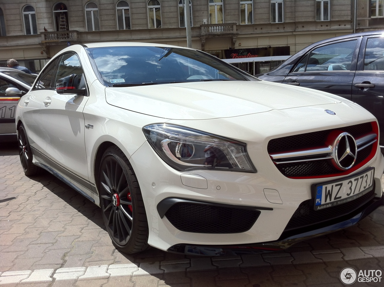 Mercedes benz cla 45 amg edition 1 c117 4 january 2015 for Mercedes benz cla 250 2010