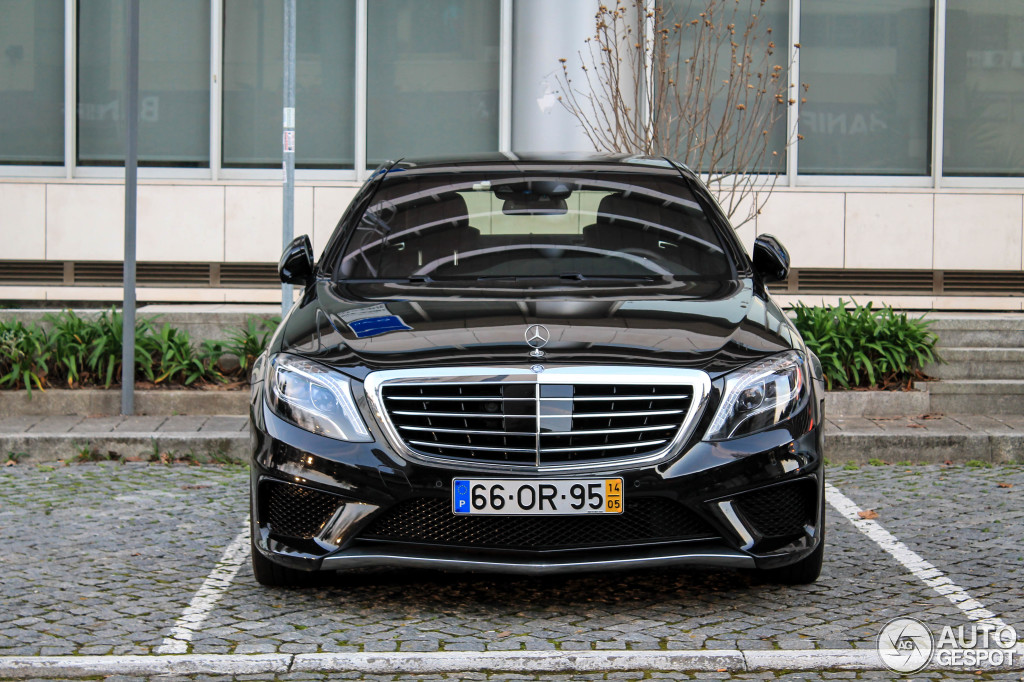 Mercedes-Benz S 63 AMG W222 - 23 February 2015 - Autogespot