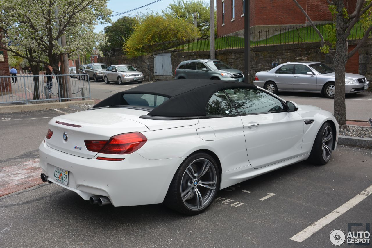 bmw m6 f12 cabriolet 5 january 2015 autogespot. Black Bedroom Furniture Sets. Home Design Ideas