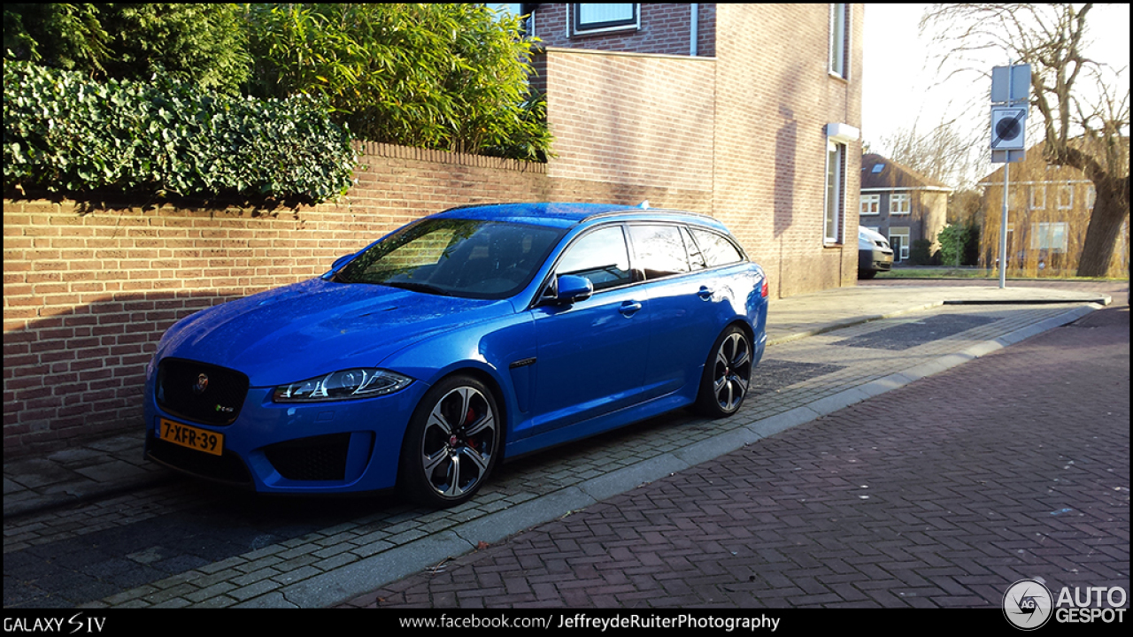 jaguar xfr s sportbrake 5 januar 2015 autogespot. Black Bedroom Furniture Sets. Home Design Ideas
