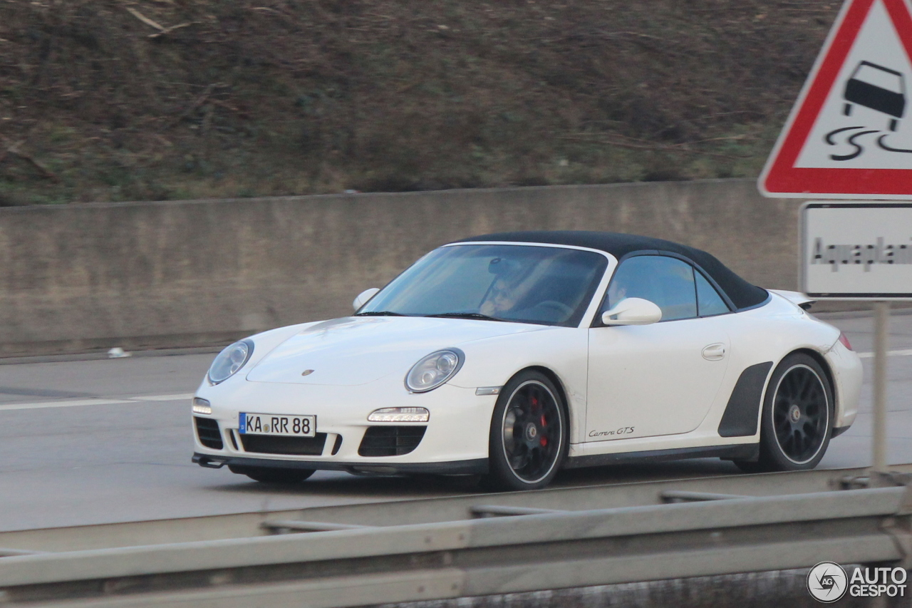 porsche 997 carrera gts cabriolet 5 januar 2015 autogespot. Black Bedroom Furniture Sets. Home Design Ideas