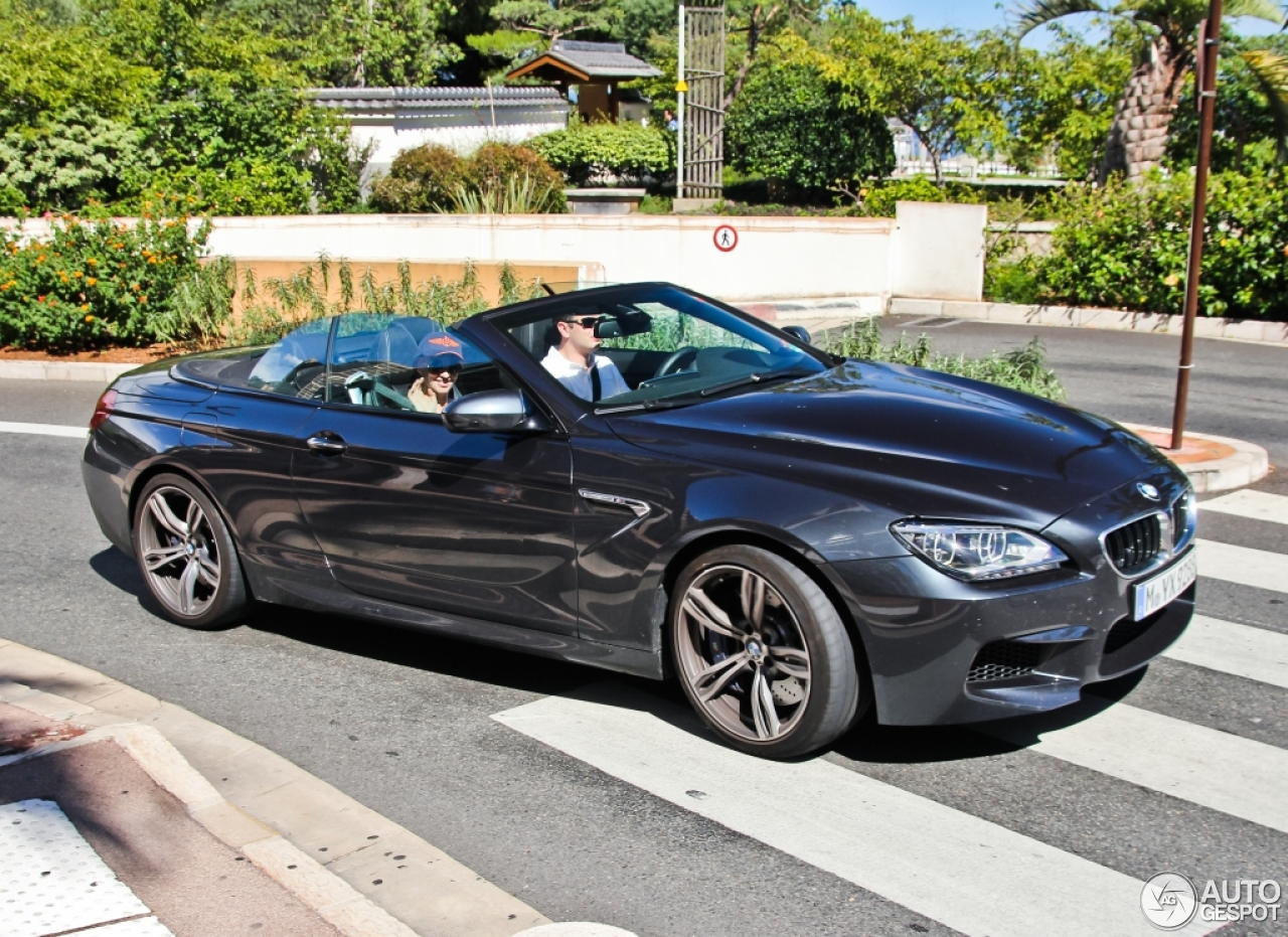 bmw m6 f12 cabriolet 7 januar 2015 autogespot. Black Bedroom Furniture Sets. Home Design Ideas