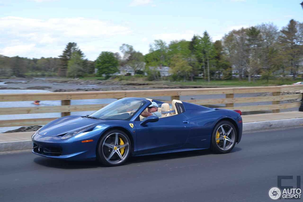 ferrari 458 spider 7 january 2015 autogespot. Black Bedroom Furniture Sets. Home Design Ideas