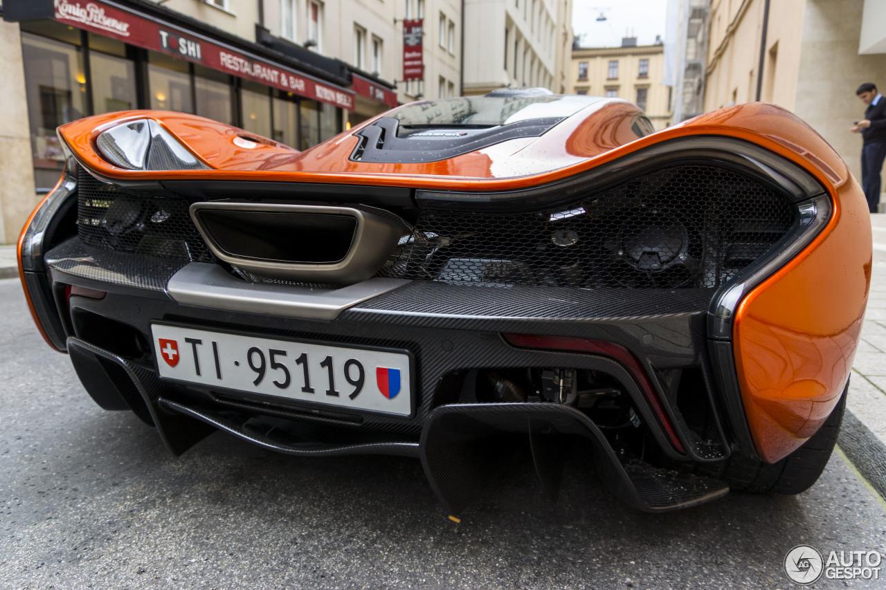 McLaren P1 2