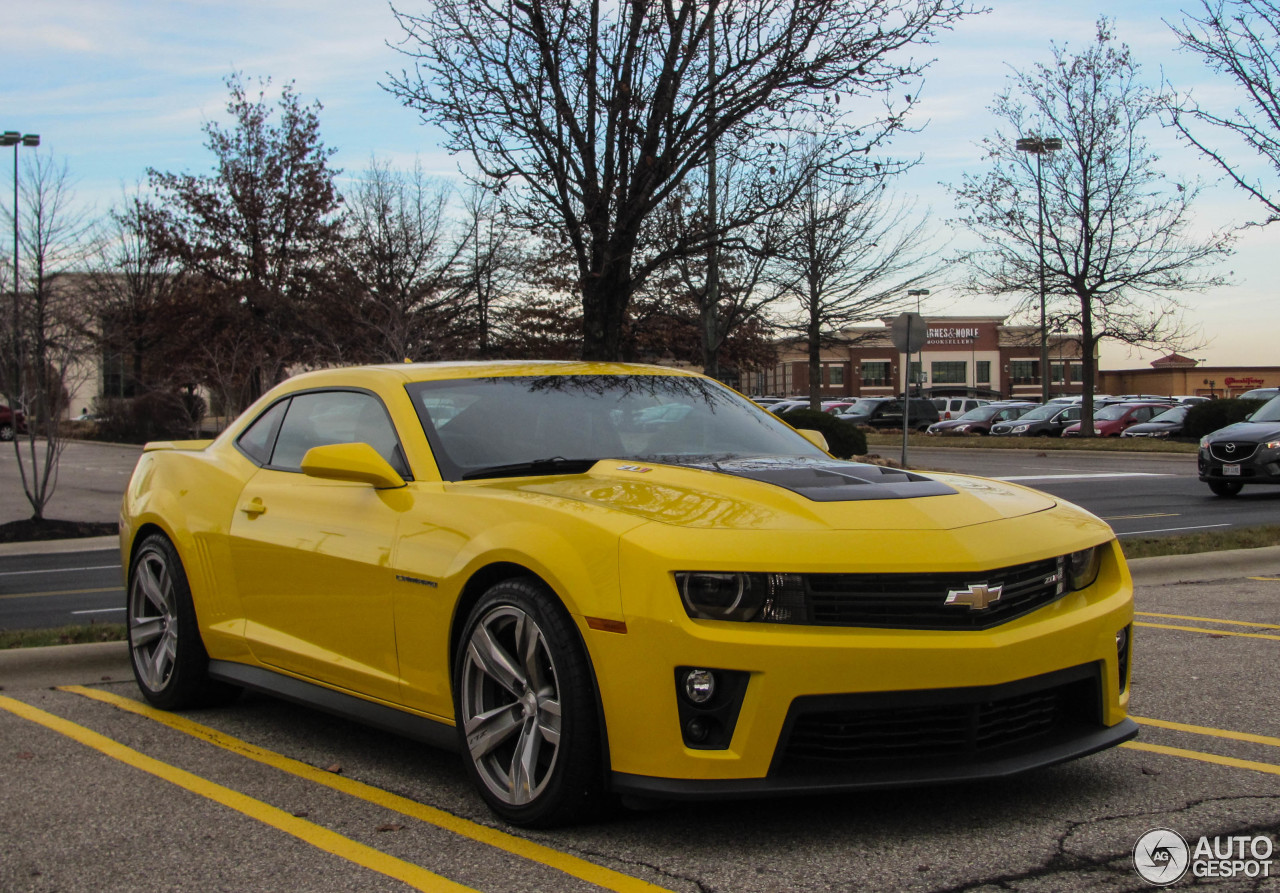 Chevrolet Camaro Zl1 12 January 2015 Autogespot