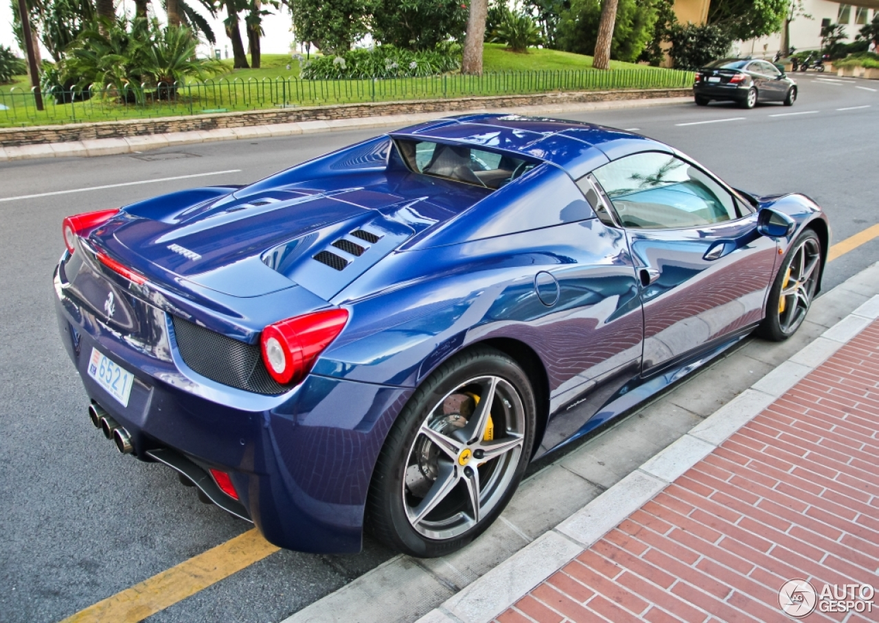 ferrari 458 spider 12 january 2015 autogespot. Black Bedroom Furniture Sets. Home Design Ideas
