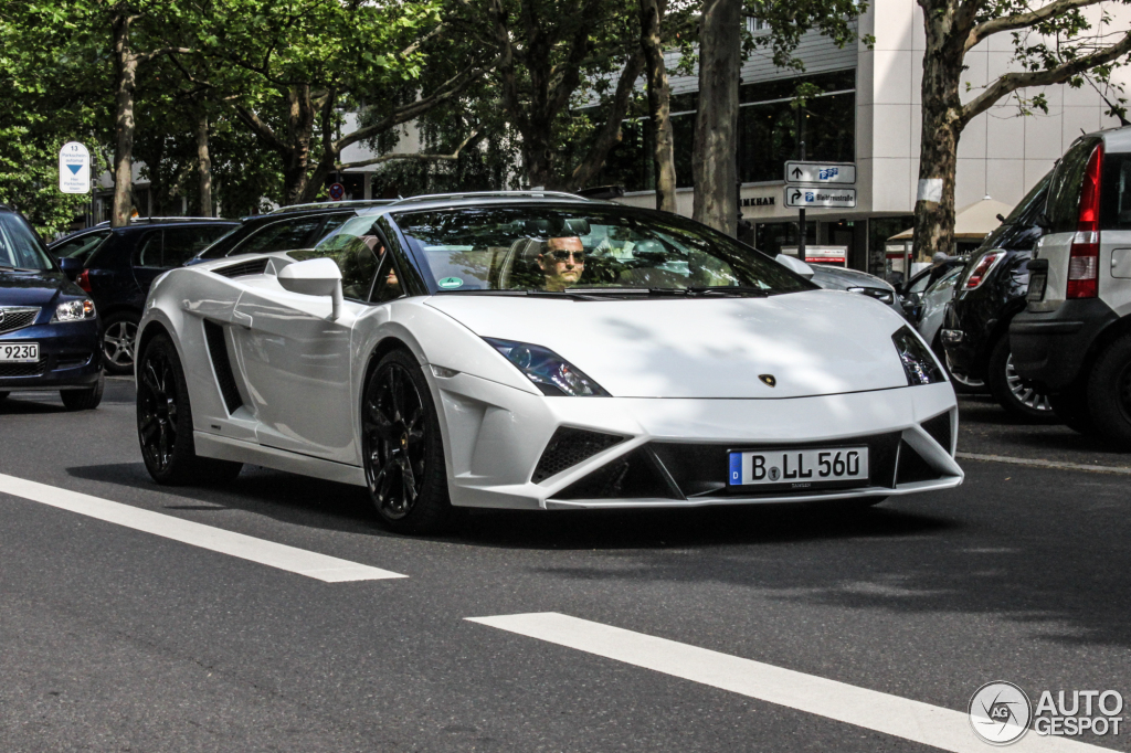 Beautiful Lamborghini Gallardo LP560 4 Spyder 2013