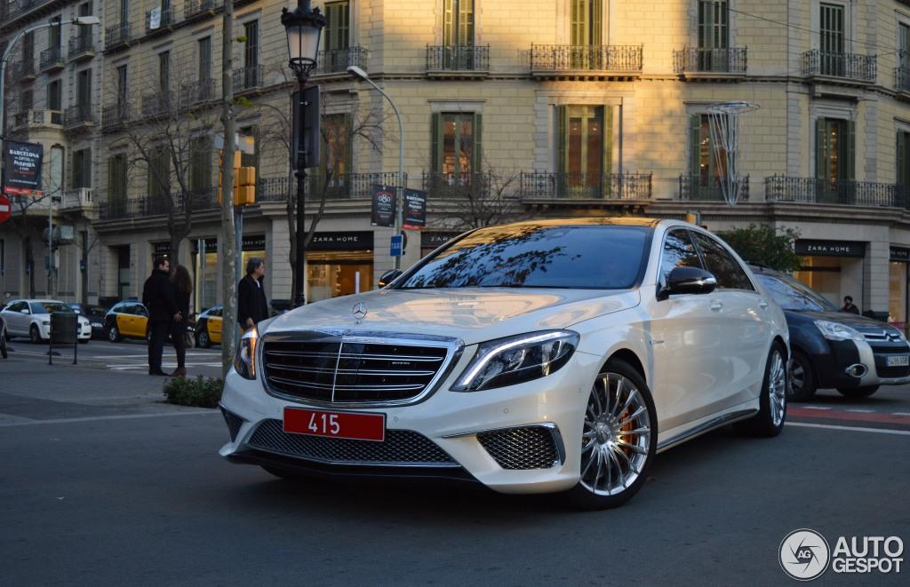 Mercedes Benz S 65 Amg V222 12 Januar 2015 Autogespot