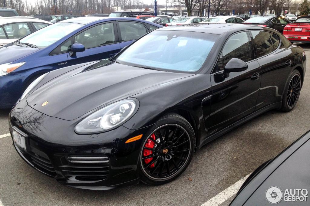 1 i porsche 970 panamera gts mkii 1 - 2015 Porsche Panamera Black