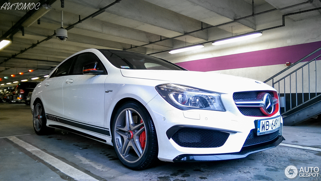 mercedes benz cla 45 amg edition 1 c117 14 january 2015 autogespot. Black Bedroom Furniture Sets. Home Design Ideas