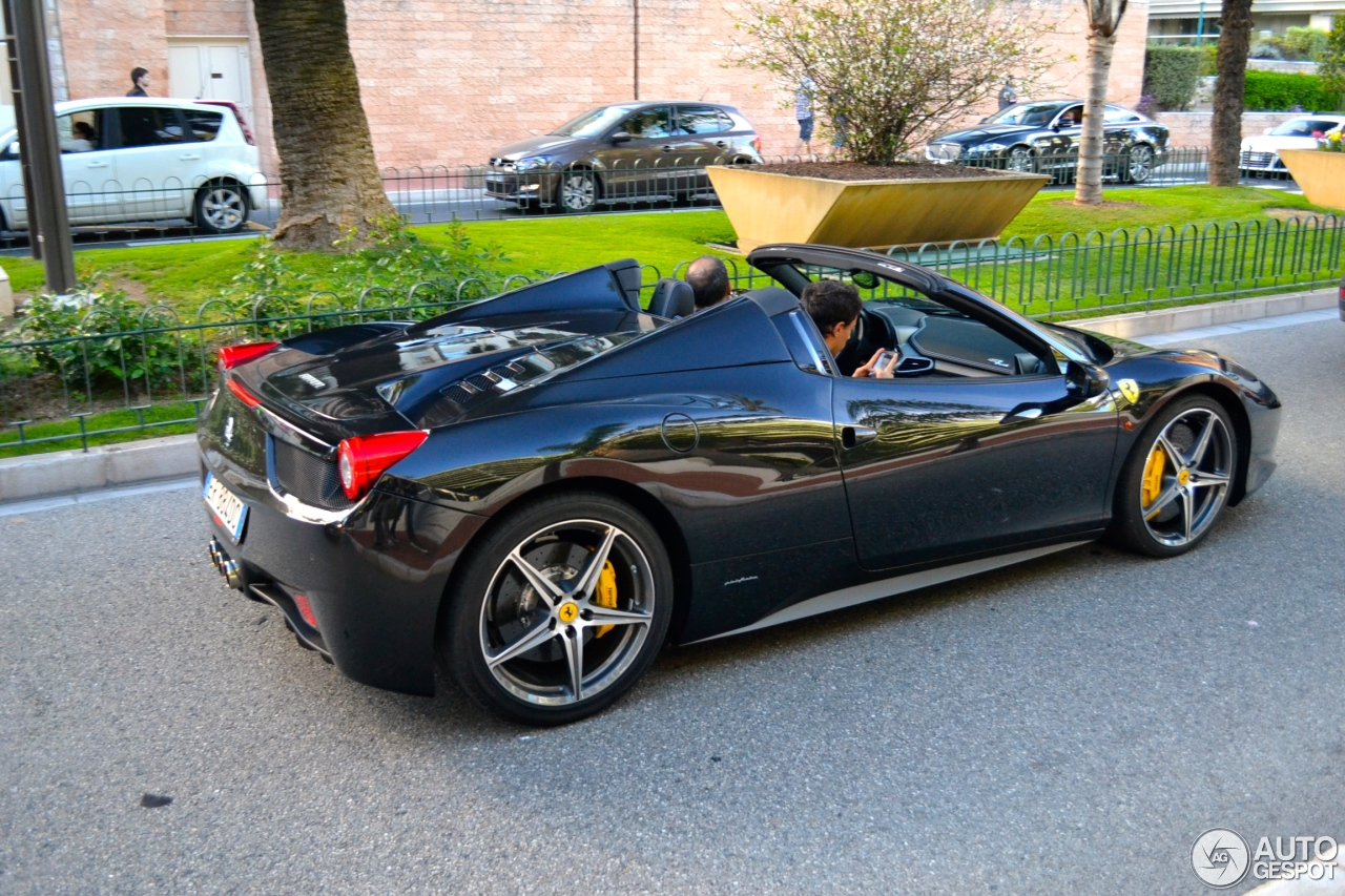 ferrari 458 spider 15 january 2015 autogespot. Black Bedroom Furniture Sets. Home Design Ideas