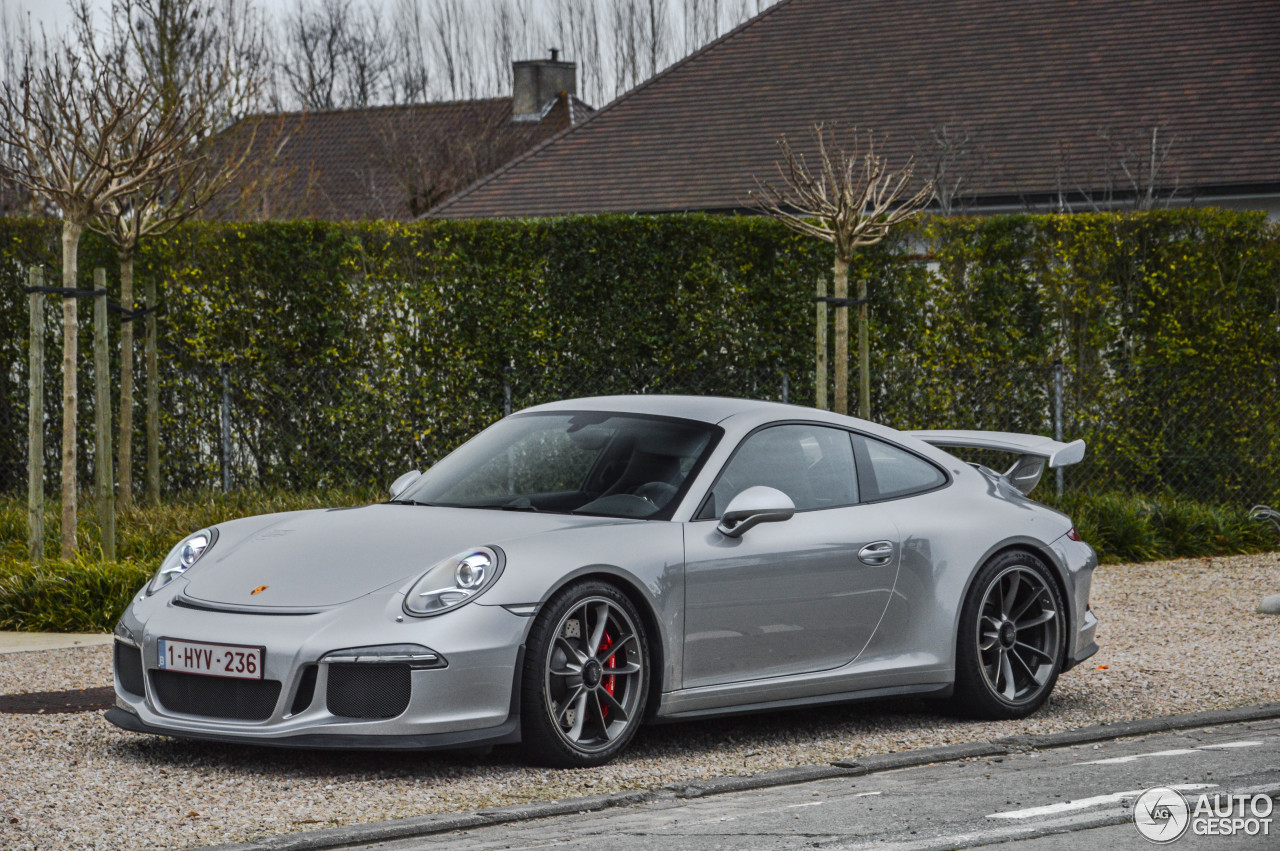 porsche 991 gt3 16 january 2015 autogespot. Black Bedroom Furniture Sets. Home Design Ideas