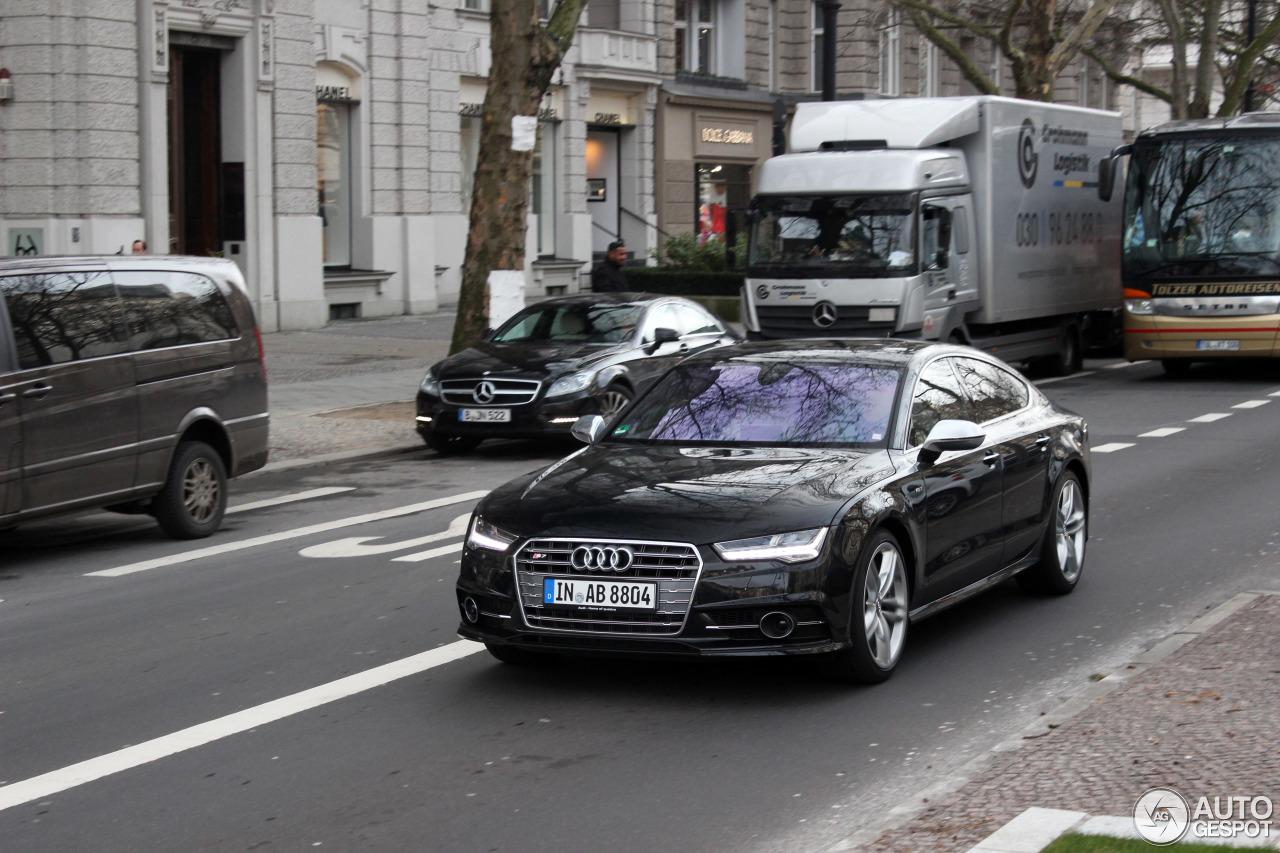 Audi S7 Sportback 2015 17 January 2015 Autogespot