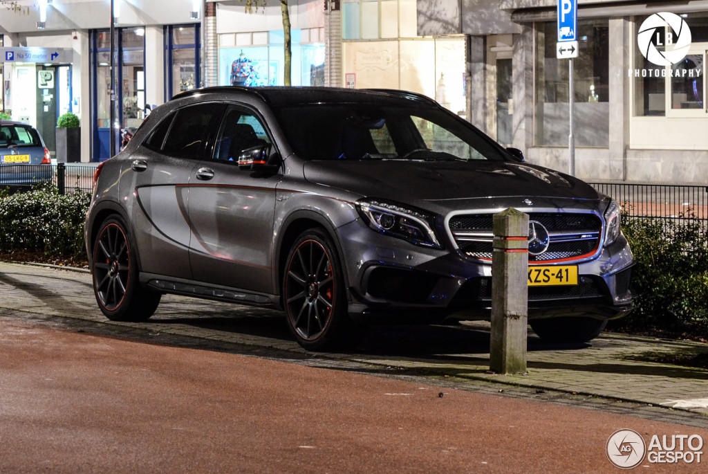 mercedes benz gla 45 amg edition 1 18 january 2015 autogespot. Black Bedroom Furniture Sets. Home Design Ideas