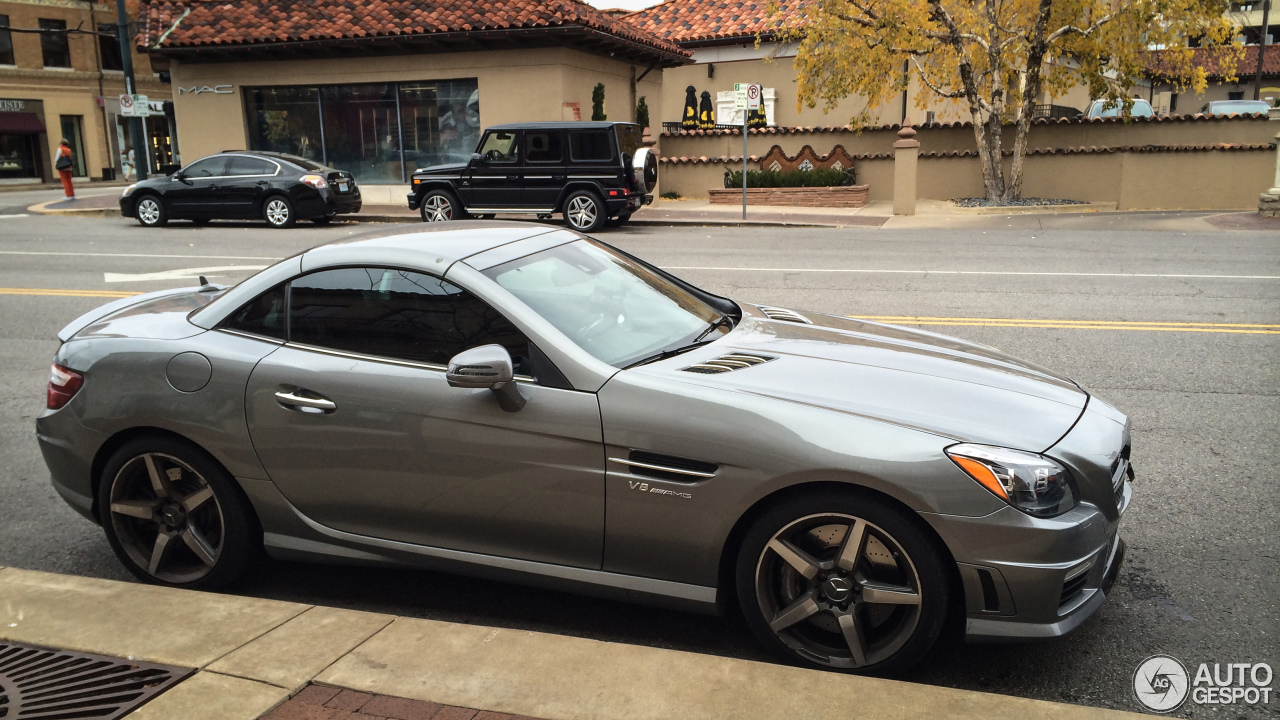 mercedes benz slk 55 amg r172 18 january 2015 autogespot. Black Bedroom Furniture Sets. Home Design Ideas
