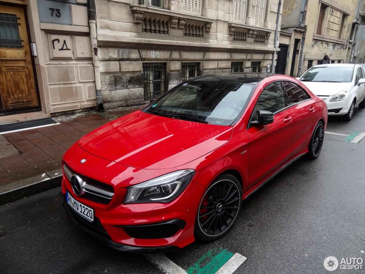 Mercedes benz cla 45 amg c117 19 january 2015 autogespot for 2015 mercedes benz cla class cla 45 amg