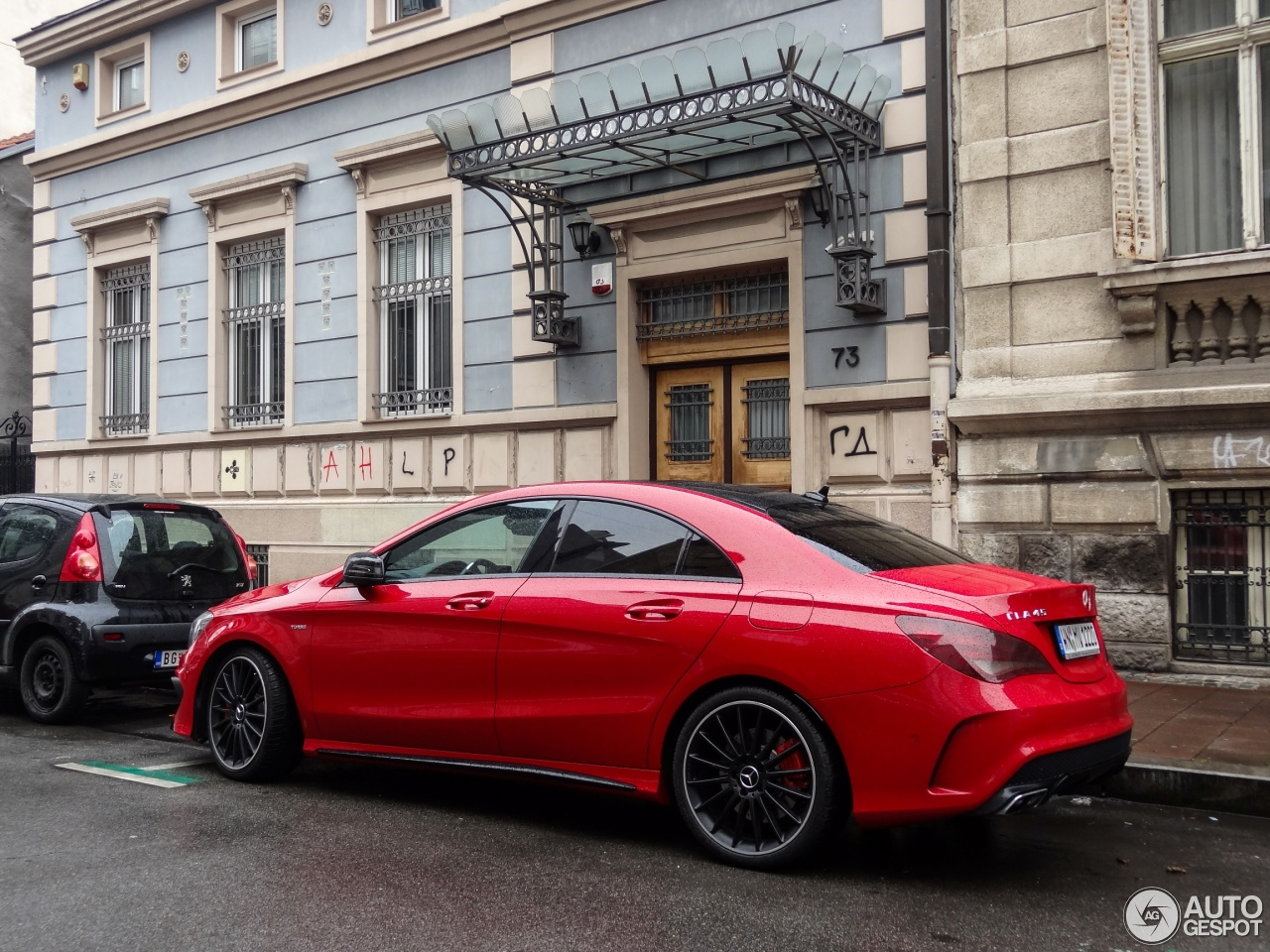mercedes benz cla 45 amg c117 19 january 2015 autogespot. Cars Review. Best American Auto & Cars Review