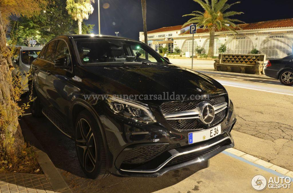 Mercedes amg gle 63 coupe 19 januar 2015 autogespot for Mercedes benz amg gle 63
