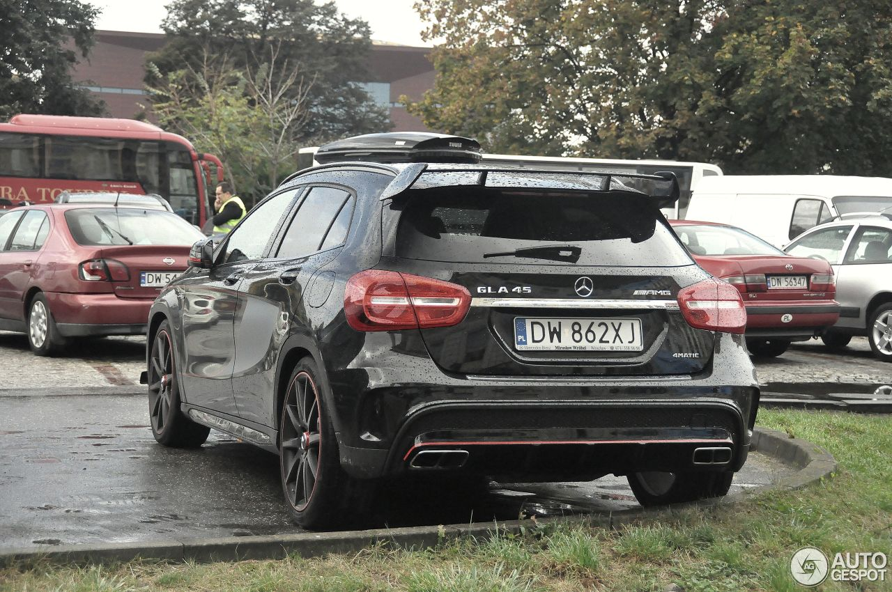 mercedes benz gla 45 amg edition 1 22 janvier 2015 autogespot. Black Bedroom Furniture Sets. Home Design Ideas