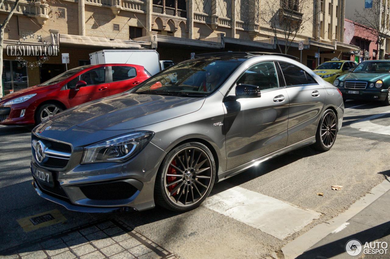 Mercedes benz cla 45 amg c117 23 january 2015 autogespot for Cla 45 amg mercedes benz