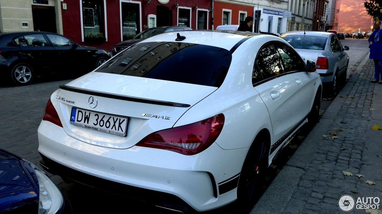 Mercedes Benz Cla 45 Amg Edition 1 C117 23 January 2015