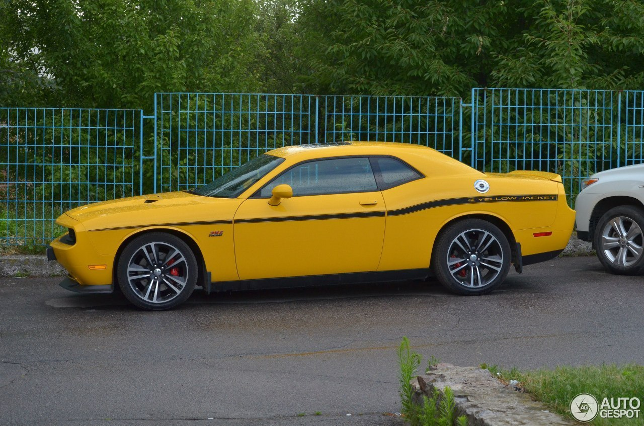 dodge challenger srt8 392 yellow jacket 24 january 2015 autogespot. Black Bedroom Furniture Sets. Home Design Ideas