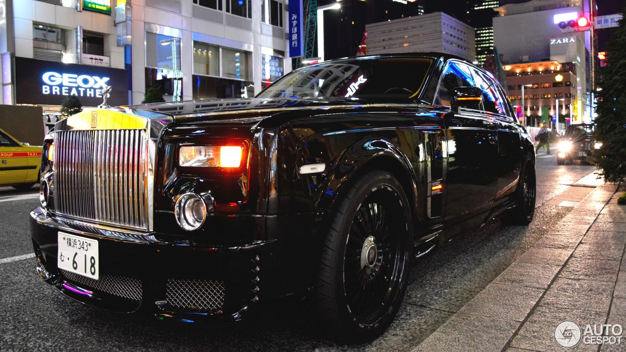 rolls royce phantom 2015 black. rollsroyce wald phantom black bison edition 25 january 2015 autogespot rolls royce o
