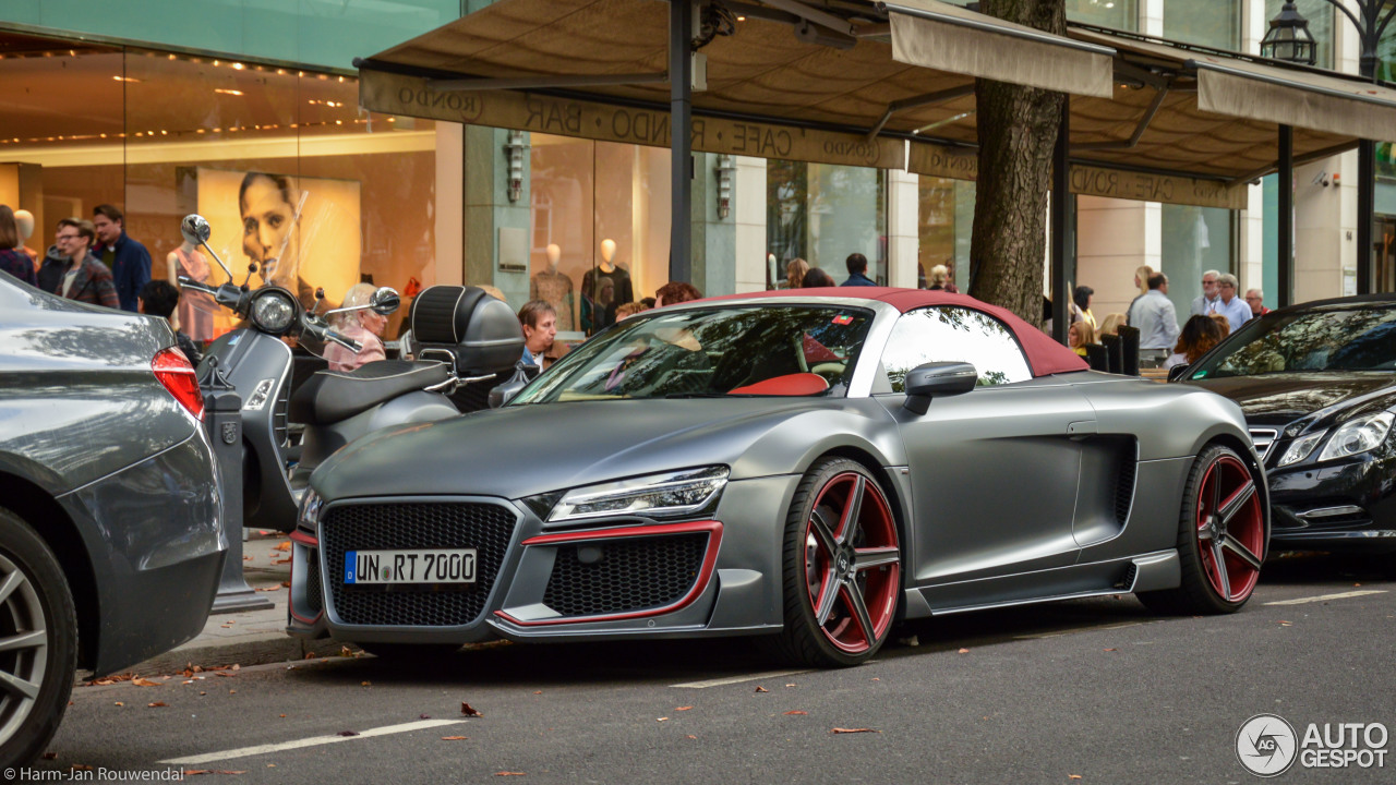 audi r8 v10 spyder 2013 regula tuning 26 january 2015. Black Bedroom Furniture Sets. Home Design Ideas