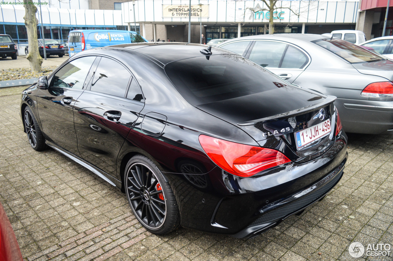 mercedes benz cla 45 amg c117 27 january 2015 autogespot. Black Bedroom Furniture Sets. Home Design Ideas