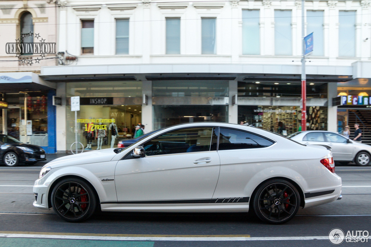 Mercedes benz c 63 amg coup edition 507 28 january 2015 for Mercedes benz c63 amg 507 edition 2015