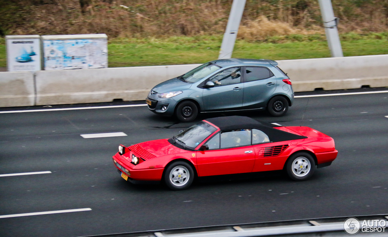 ferrari mondial 3 2 cabriolet 29 january 2015 autogespot. Black Bedroom Furniture Sets. Home Design Ideas