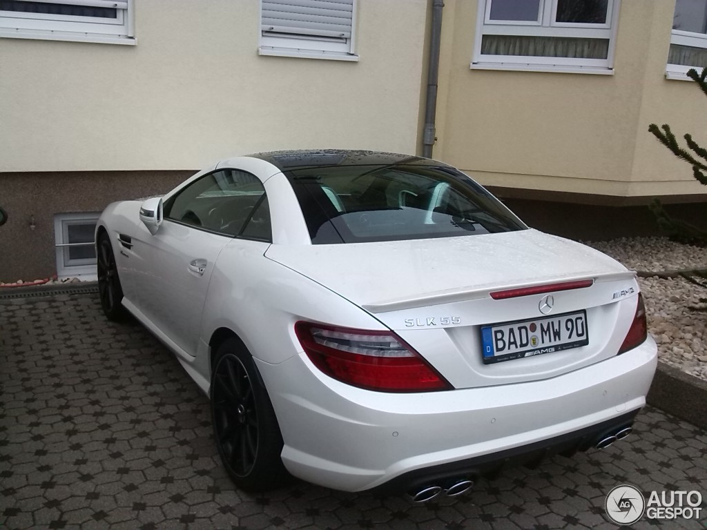 mercedes benz slk 55 amg r172 29 januar 2015 autogespot. Black Bedroom Furniture Sets. Home Design Ideas