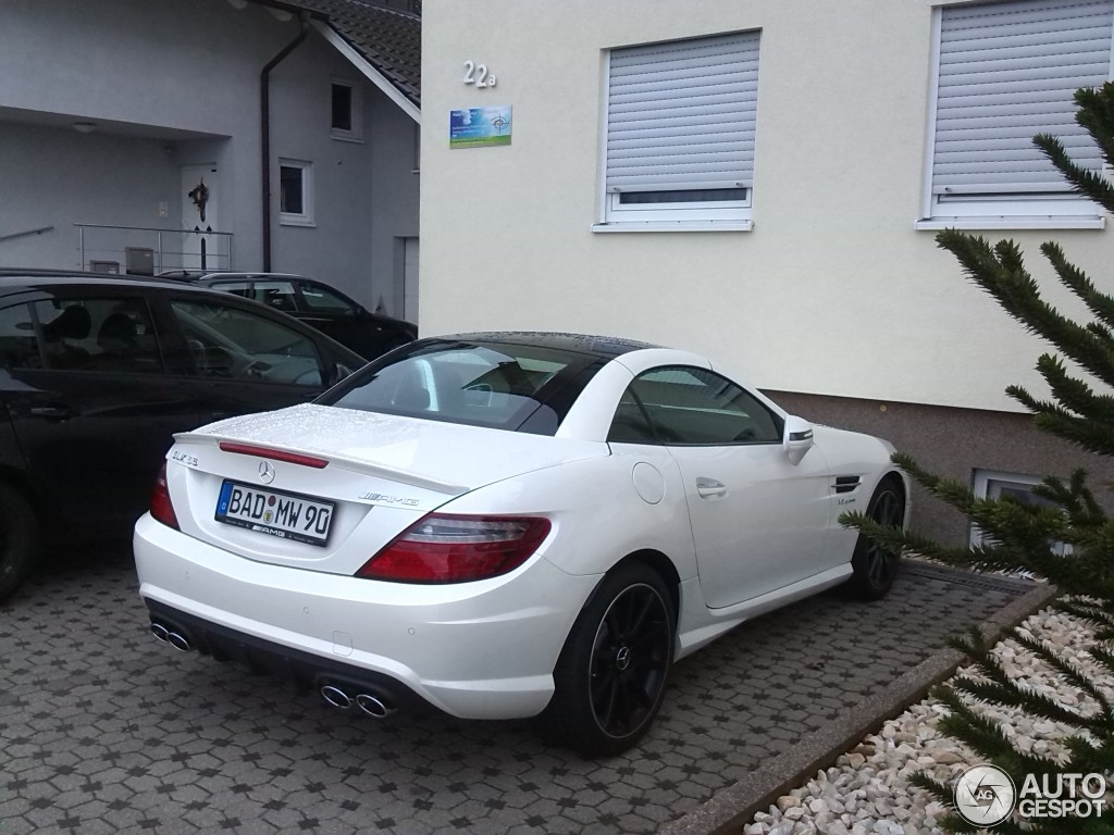 mercedes benz slk 55 amg r172 29 january 2015 autogespot. Black Bedroom Furniture Sets. Home Design Ideas
