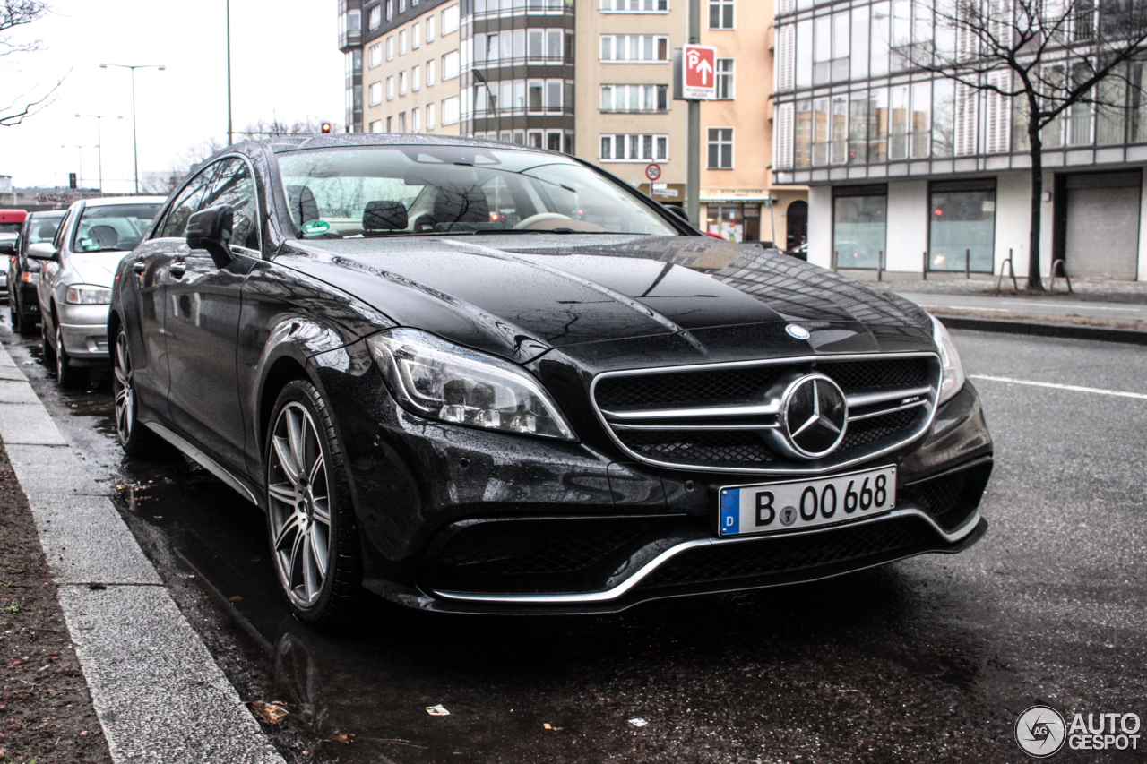 Mercedes-Benz CLS 63 AMG S C218 2015 - 31 January 2015 - Autogespot