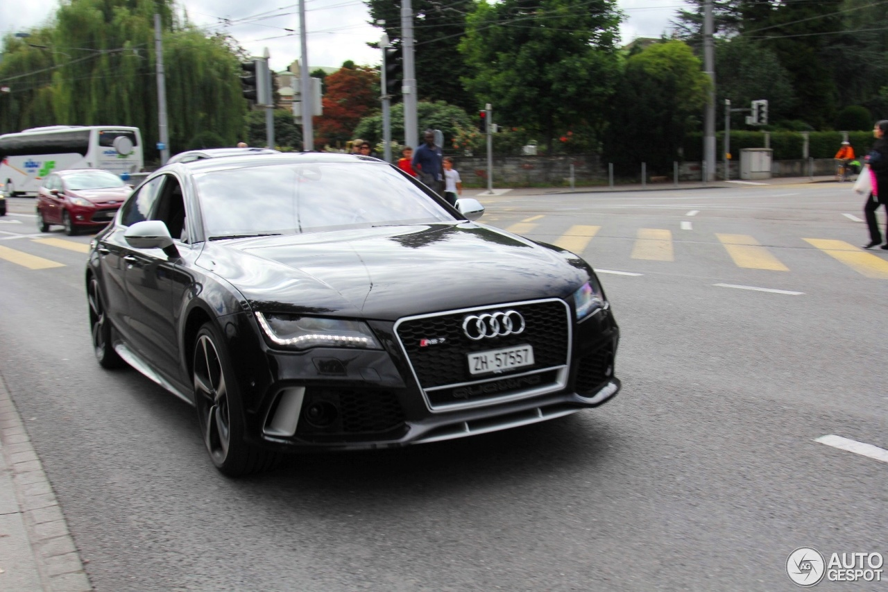 audi rs7 sportback 1 fvrier 2015 autogespot. Black Bedroom Furniture Sets. Home Design Ideas