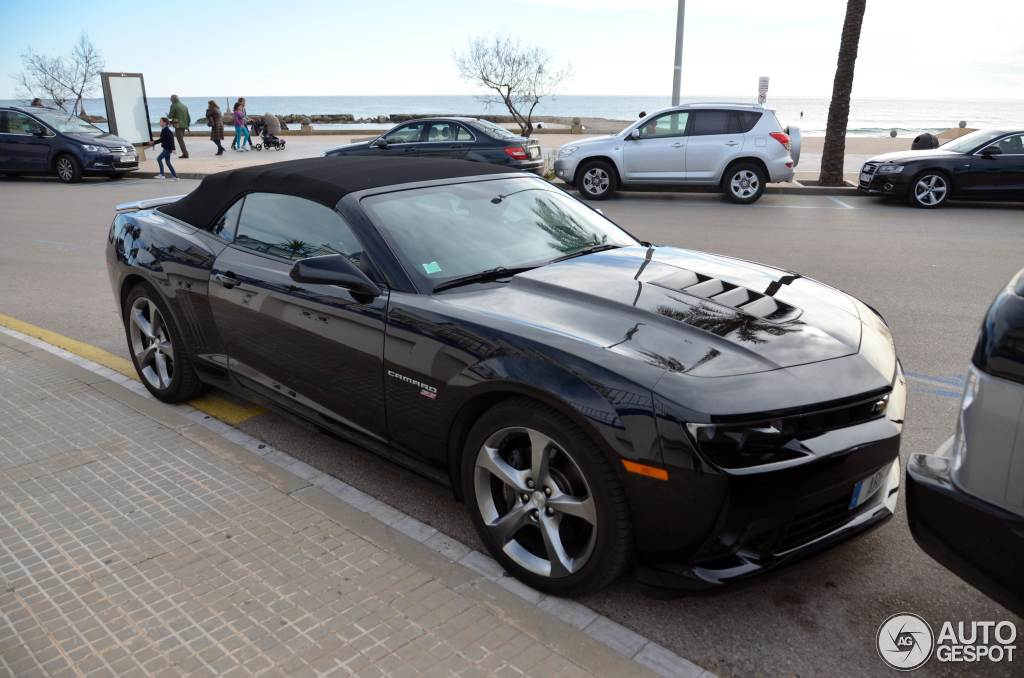 Chevrolet Camaro SS Convertible 2014 - 1 February 2015 - Autogespot
