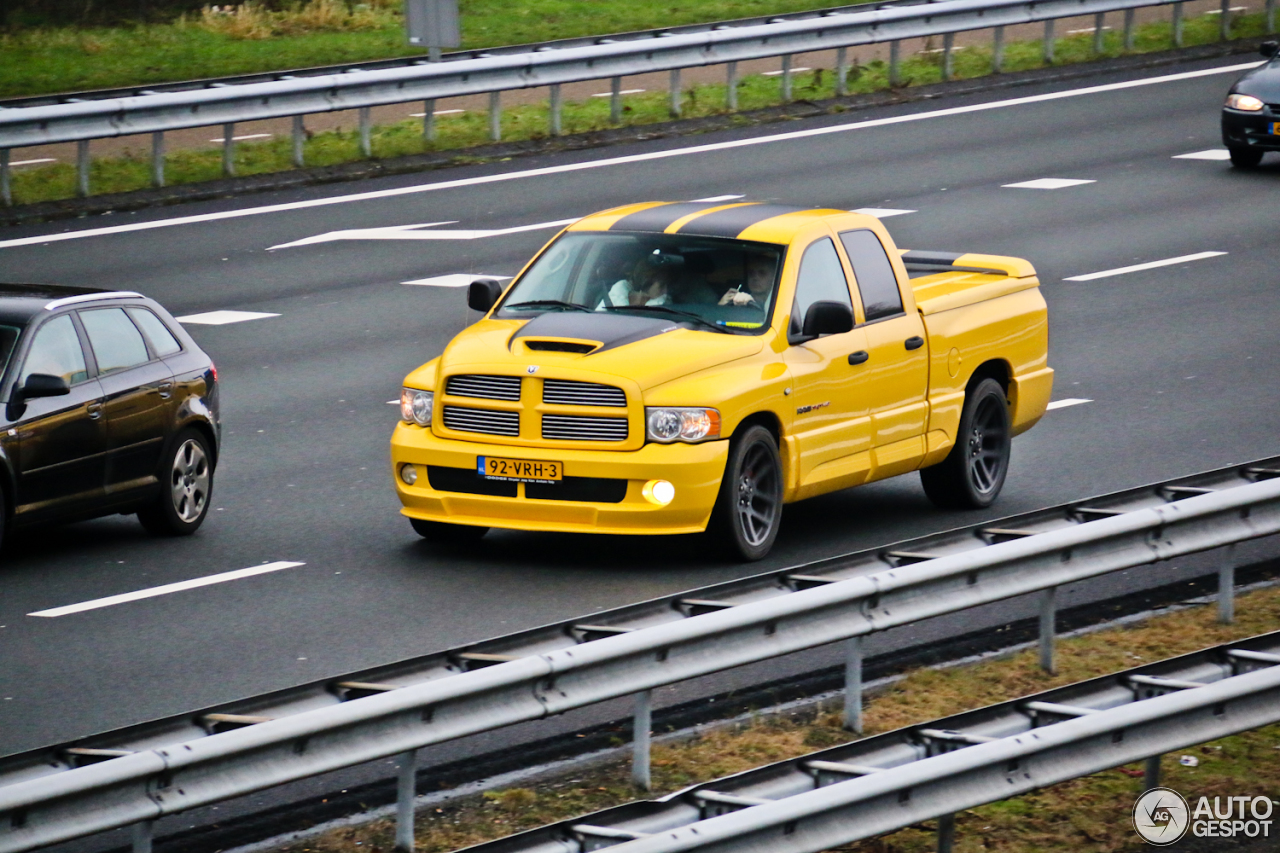 Ram Srt 10 >> Dodge RAM SRT-10 Quad-Cab Yellow Fever Edition - 1 ...