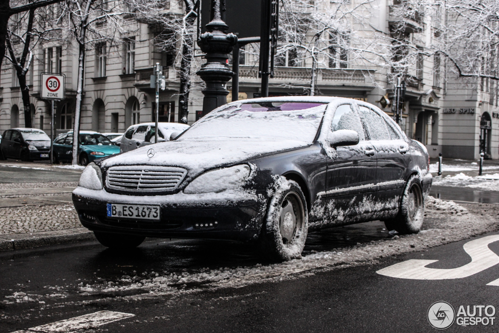 Mercedes benz s 55 amg w220 1 februar 2015 autogespot