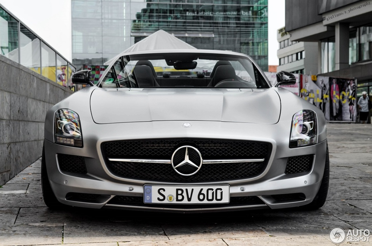 Mercedes Benz Sls Amg Gt Roadster 1 February 2015