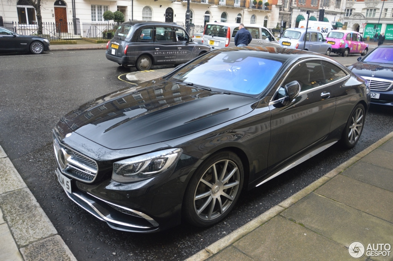 mercedes benz s 65 amg coup c217 2 fvrier 2015 autogespot. Black Bedroom Furniture Sets. Home Design Ideas