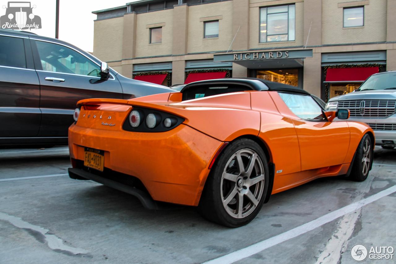 Tesla Motors Roadster Sport 2 February 2015 Autogespot