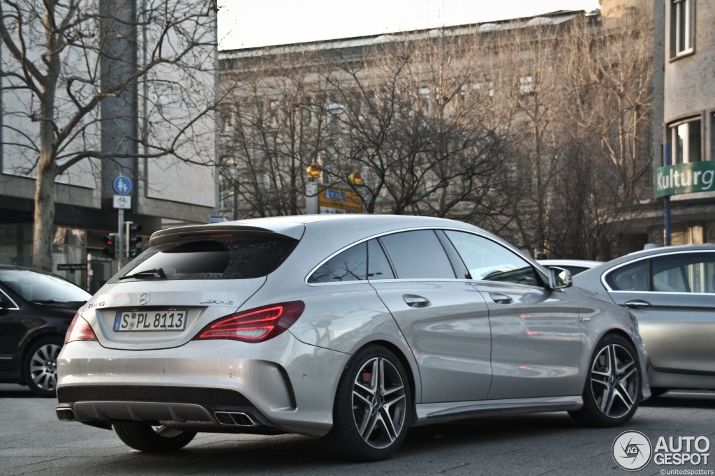 mercedes benz cla 45 amg shooting brake 7 februar 2015. Black Bedroom Furniture Sets. Home Design Ideas