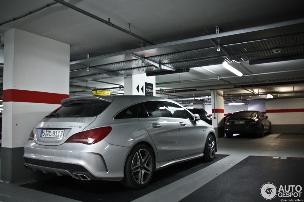 mercedes benz cla 45 amg shooting brake 7 februari 2015. Black Bedroom Furniture Sets. Home Design Ideas