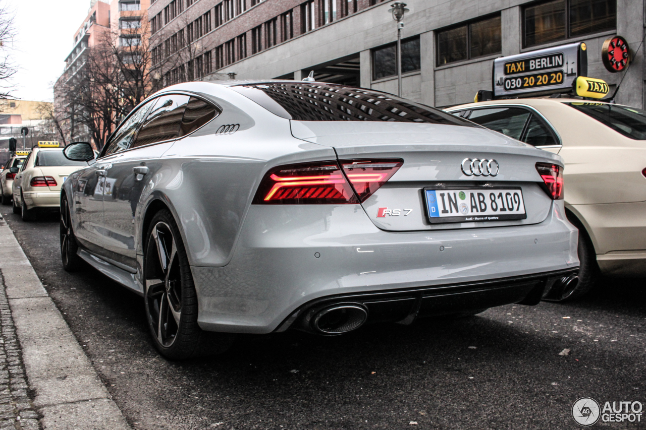 Audi Rs7 Sportback 2015 8 February 2015 Autogespot