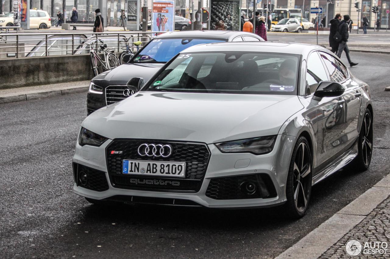 Audi Rs7 Sportback 2015 8 February 2015 Autogespot