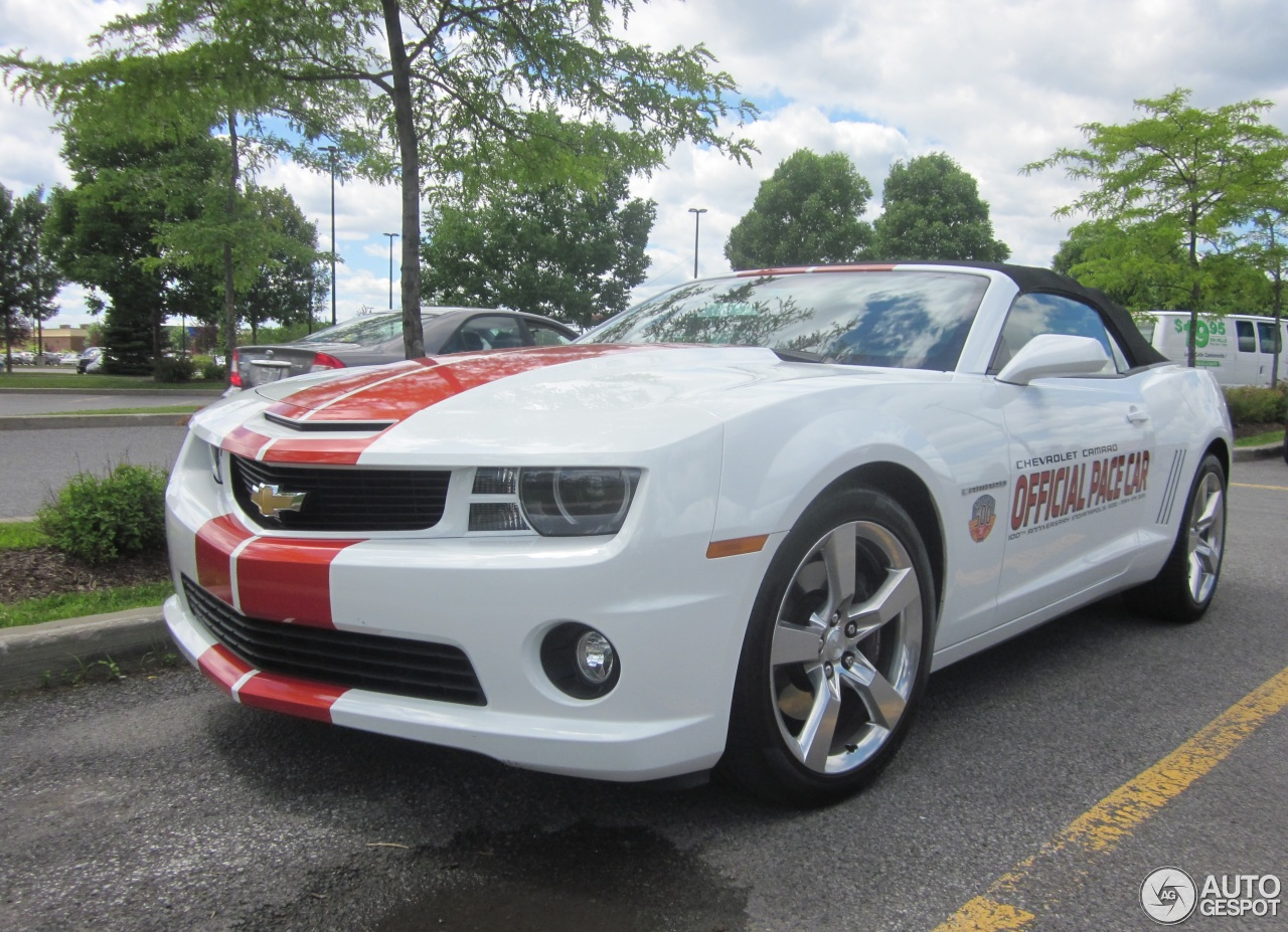 chevrolet camaro ss convertible indy 500 pace car 8 february 2015 autogespot. Black Bedroom Furniture Sets. Home Design Ideas