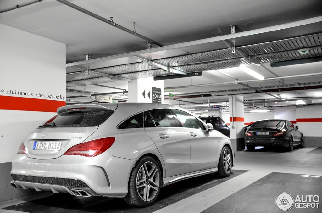 mercedes benz cla 45 amg shooting brake 8 februar 2015 autogespot. Black Bedroom Furniture Sets. Home Design Ideas