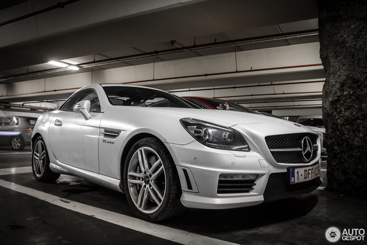 mercedes benz slk 55 amg r172 8 february 2015 autogespot. Black Bedroom Furniture Sets. Home Design Ideas