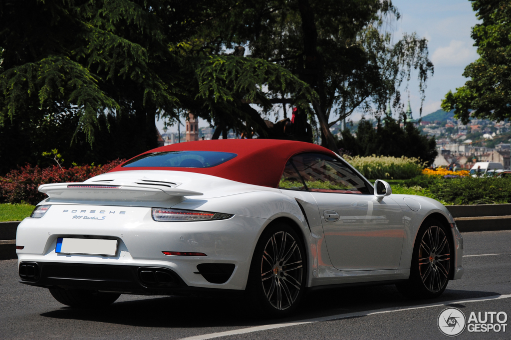 porsche 991 turbo s cabriolet 8 february 2015 autogespot. Black Bedroom Furniture Sets. Home Design Ideas
